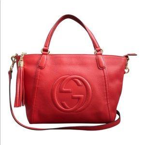 Gucci Soho red satchel